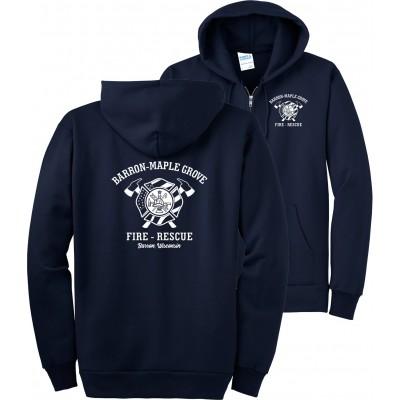 BMGFD - Essential Fleece Full-Zip Hooded Sweatshirt